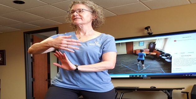 Teaching Tai Chi Online:  Moving from Fear to Competency